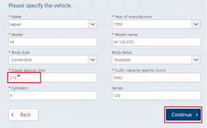 Vehicle DataSpecification 2