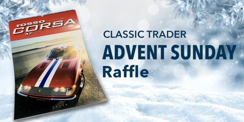 Classic Trader Advent-Raffle 2020: First Sunday of December
