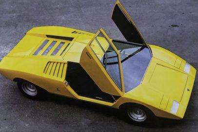 1971 Lamborghini Countach LP 500 yellow (2)