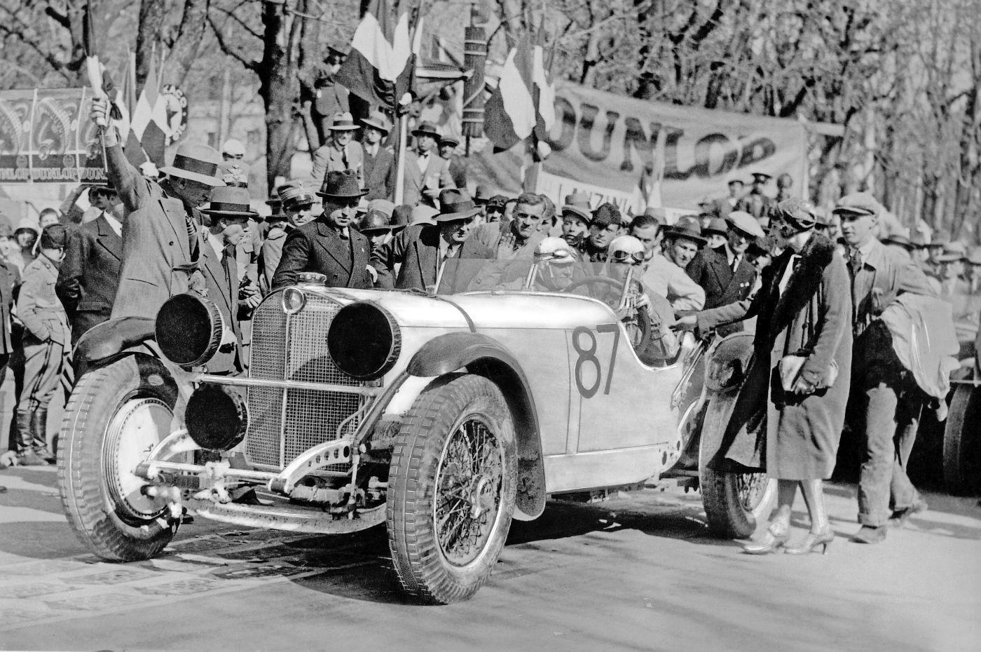1931 Mille Miglia Rudolf Caracciola Mercedes-Benz SSKL (1)