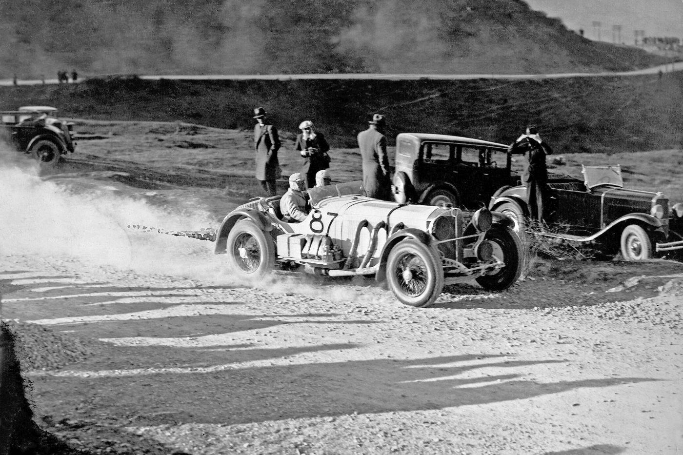 1931 Mille Miglia Rudolf Caracciola Mercedes-Benz SSKL (5)