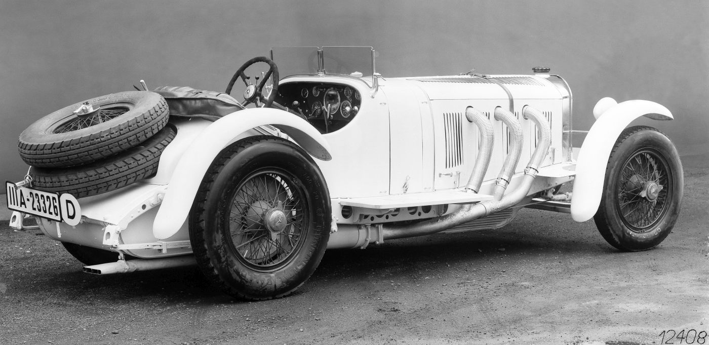 1931 Mille Miglia Rudolf Caracciola Mercedes-Benz SSKL (8)