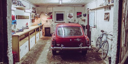 Off to a mechanic's paradise – your own workshop