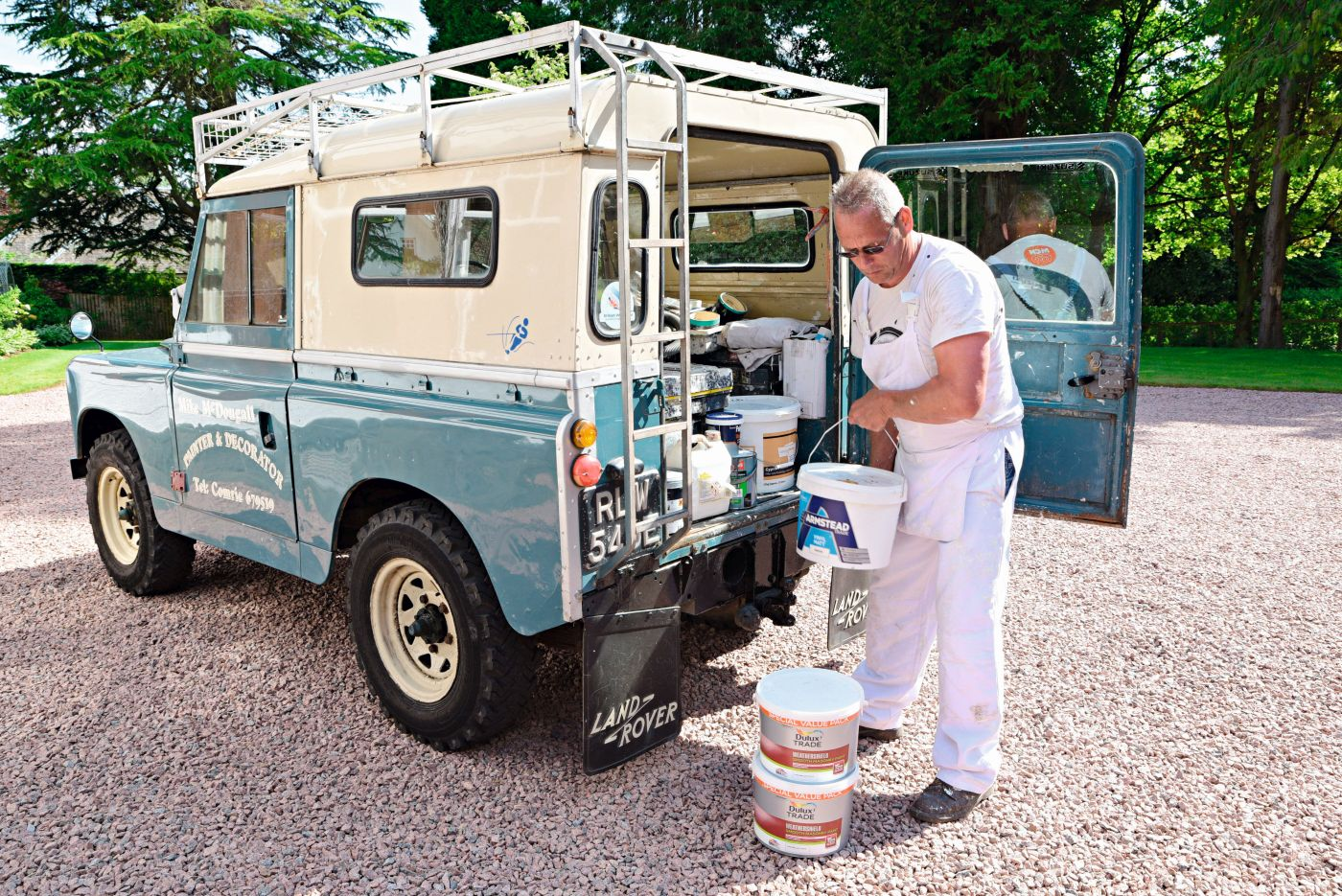 Landy Love 1967 Land Rover 88 (2)
