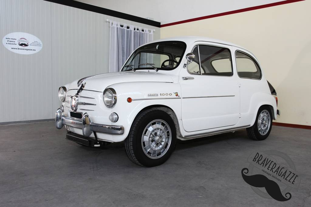 Fiat Abarth 850 600 Punta Dallo Scorpione Classic